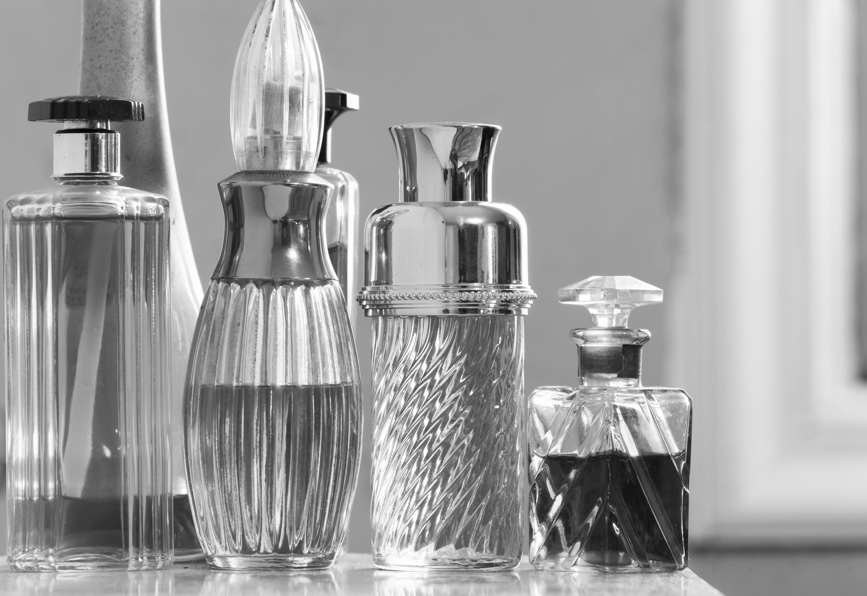 shutter perfume bottles